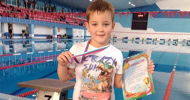 Открытое Первенство по плаванию в г. Балаково