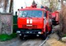 Воспламенившийся прицеп тушили пожарные