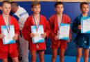 Участие в соревнованиях по борьбе самбо среди юношей в г. Саратове.