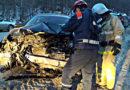 В аварии под Хвалынском водитель получила тяжелые травмы