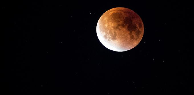 В Саратовской области можно будет увидеть кровавую Луну
