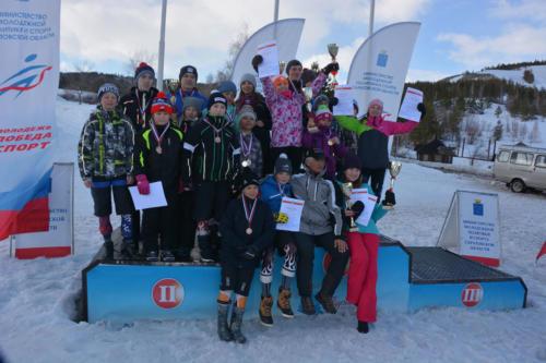 Кубок Губернатора Саратовской области - горнолыжный спорт