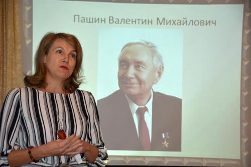 Открытие мемориальной доски памяти В.А. Гамзину в с. Акатная Маза