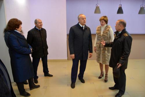 Посещение губернатора В.В. Радаева, 25.10.19