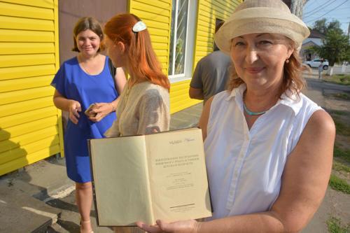 Открытие мемориальной доски городскому врачу В.Д. Каришневу